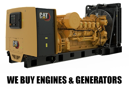 We buy used generators